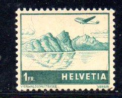 147/1500 - SVIZZERA 1941 , Posta Aerea   Unificato N. 32  ***  MNH - Nuevos
