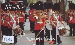 Télécarte  JAPON * 110-011 * Music * BRITISH AIRWAYS (2337)  Airplane * Flugzeug AVION * AIRLINE * Phonecard JAPAN - Avions