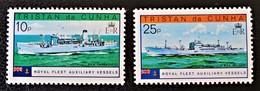 VAISSEAUX AUXILIAIRES DE A FLOTTE ROYALE 1978 - NEUFS ** - YT 249 + 251 - Tristan Da Cunha