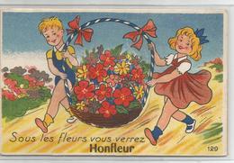 HONFLEUR - Carte à Système - Honfleur