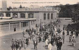 PONTHIERRY - Usines Isidore LEROY - Sortie Des Ateliers - France