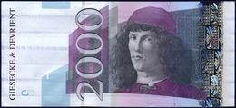 GIESECKE & DEVRIENT PRINTER TEST NOTE BANKNOTE AUNC - Bankbiljetten