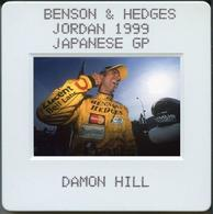 Diapositive De Presse - Formule 1 - Damon Hill - Jordan Honda - Schumacher - Frentzen - Slide - Automobiles