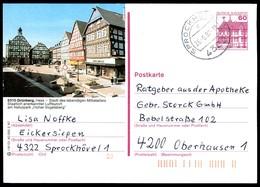 84830) BRD - P 138 - R8/121 - OO Gestempelt - 6310 Grünberg, Marktplatz - [7] West-Duitsland