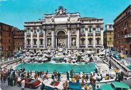 ROMA  FONTANA DI TREVI   VIAGGIATA - Fontana Di Trevi