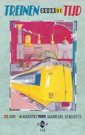195492Treinen Door De Tijd, 22 Juni-6 Augustus 1989Jaarbeur, Utrecht CS (STICKER) - Treinen