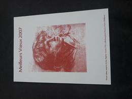 Gravure Meilleurs Voeux 2007 - Documents Of Postal Services
