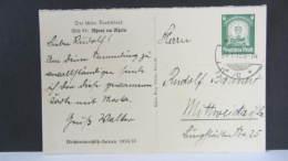 DR 33-45: Sonder-Karte Mit 6 Pf Winterhilfswerk, Vs: Bild 94: Rhens Am Rhein 23.1.35  Knr:P 269 - Deutschland