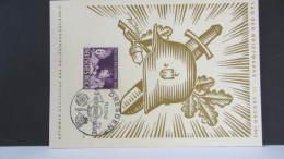 DR 33-45: Gedenk-Karte Mit 6 Pf Tag Der Briefmarke 11.1.42  Knr: 811 - Deutschland