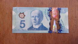 Billet  5 Dollards  CANADA - Canada