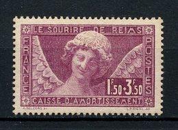 FRANCE 1930 N° 256 ** Neuf MNH Superbe C 160 € Caisse D'amortissement Ange Au Sourire Cathédrale De Reims - Unused Stamps