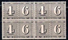 155/1500 - SVIZZERA 1941 , Berna  Unificato N. 384 ***  MNH  : Quartine - Nuovi