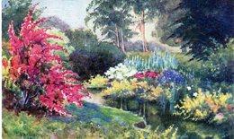 Cpa Illustrateurs - Signés > Tuck, Raphael - All In A Garden Fair - Tout Dans Un Salon Du Jardinage - - Tuck, Raphael