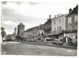 46-MARTEL-Le Cours Des Fossés Vu De La Place Gambetta...animé - Autres Communes