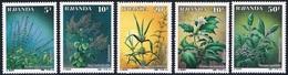 Rwanda - Plantes Médicinales 1342/1346 ** - Plantes Médicinales