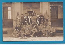 14 Calvados Caen Carte Photo Hopital Militaire 1918 Blessés Infirmières - Caen