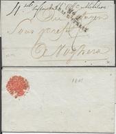 LSC N°2 ARM.D'ITALIE Adressée En 1801 Au Citoyen Sous Préfet De Voghera En Lombardie - Postmark Collection (Covers)