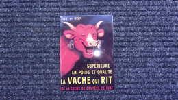 Plaque En Tole  Publicite  La Vache Qui Tit    15x21 - Plaques En Tôle (après 1960)