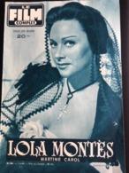 Film Complet Lola Montes Martine Carol 4eme De Couve Edmond O'brien - Journaux - Quotidiens