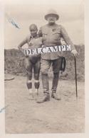 AMAZONIE PEROU 1922 / 1923 - Expédition Du Ct Marcel Chez Les Indiens OCAÏNAS, Une Anthropophage Et Le Commandant - Perù