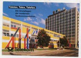 ADVERTISMENT  - AK 331945  Dresden - Telekom - Deutsche Bundespost - Publicidad