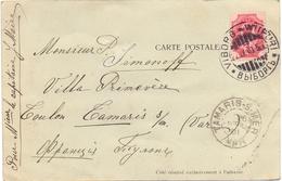 Russie Carte De Viborg Wiipuri Du 22 / 4 / 1901 Pour Tamaris Sur Mer Var - 1857-1916 Empire