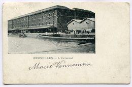 CPA - Carte Postale - Belgique - Bruxelles - L'entrepôt - 1903  ( SV5418 ) - Maritiem
