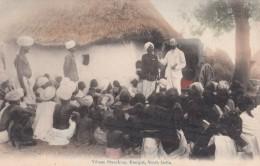 Kanigiri South India, American Baptist Missionary Union, Village Preaching, C1900s Vintage Postcard - India