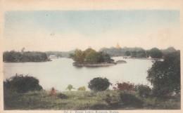 Rangoon Burma (Myanmar), The Royal Lakes, American Baptist Missionary Union, C1900s Vintage Postcard - Myanmar (Burma)