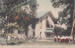 Rangoon Burma Myanmar, Franc Chapel School Children, American Baptist Foreign Mission Society, C1900s Vintage Postcard - Myanmar (Burma)