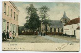 CPA - Carte Postale - Belgique - Linkebeek - L'Eglise - 1904  ( SV5419 ) - Linkebeek