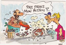 VIVE LES VACANCES / Illustrateur NONO / H26 Le Marchand De Poissons - Andere Illustrators