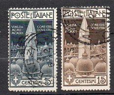 1912 Regno Campanile San Marco N. 87 - 90  Serie Completa Used Sassone 100 Euro - 1900-44 Victor Emmanuel III