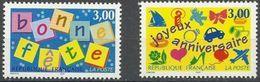 "FR YT 3045 & 3046 "" Timbres De Souhaits "" 1997 Neuf** - France"