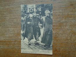 """Guerre De 1914 , Bléssé Belge Secouru Par Un Camarade, Dans Une Ville Du Nord De La France """" Carte écrite Par Un Poilu - Guerre 1914-18"""