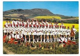 PLAUZAT SAINT SANDOUX (63) Cpsm Groupe De Majorettes - France