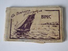 22 - BINIC  Carnet 12  CARTES La Bretagne Pittoresque - Binic