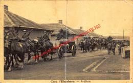 Camp D'Elsenborn - Artillerie - Cartie Pliée - Bütgenbach - Bütgenbach
