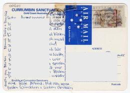 1991 - Australia - Gold Coast - Carrumbin Sanctuary - Storia Postale - Pappagallo Parrot - Gold Coast