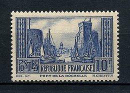 FRANCE 1929 N° 261 ** Type III Neuf MNH Superbe C 170 € Port De La Rochelle - Unused Stamps