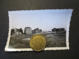 Le Havre - Photo Originale - Quartier St François Depuis La Place Gambetta - Bombardement 5 Septembre 1944 - TBE - - Places