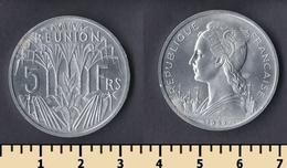 Reunion 5 Francs 1955 - Réunion