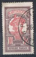 MARTINIQUE N°94  Oblitération De Petit-Bourg - Gebraucht