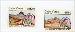 Cap Vert-Cabo Verde-1981-Lutte Contre La Désertification-série***MNH - Cap Vert