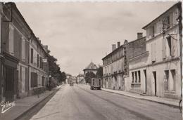 LE PONTOUVRE (16) - CPSM - Route De PARIS Et La Poste - France