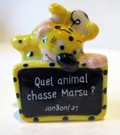 Fève Brillante Devinette -  Marsupilami 2014 - Quel Animal Chasse Marsu ? - Disney