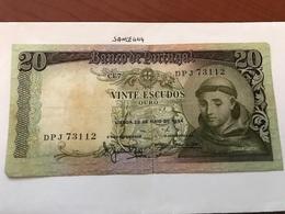 Portugal 20 Escudos Banknote 1964 - Portugal