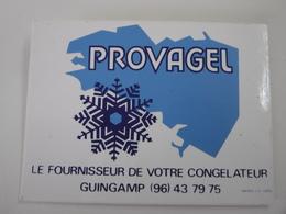 GUINGAMP Le Fournisseur De Votre Congélateur PROVAGEL - Autocollant Alimentation Produits Congelés - Autocollants