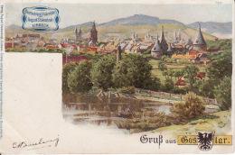 2794133,,Deutschlend Fahrräder'' Von August Stukenbrok, Einbeck. Gruss Aus Goslar - Publicité