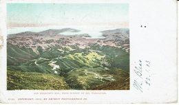 USA-SAN FRANCISCO-BAY FROM SUMMIT OF Mt TAMALPAIS - San Francisco